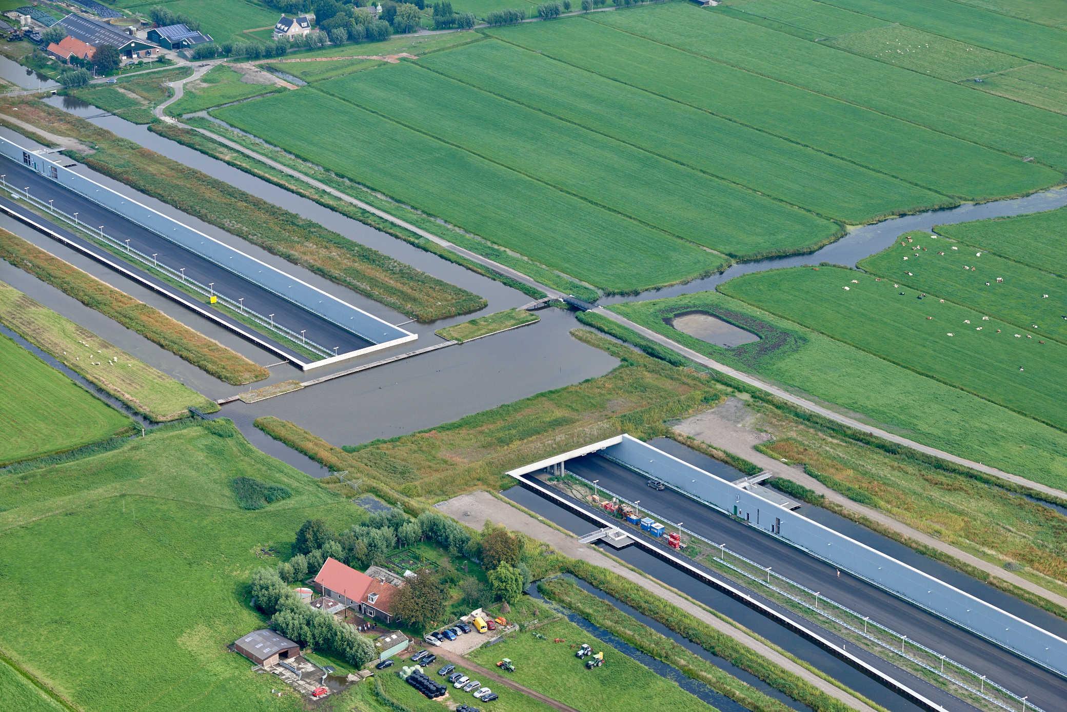 A4 Delft-Schiedam foto: Joop van Houdt / Rijkswaterstaat