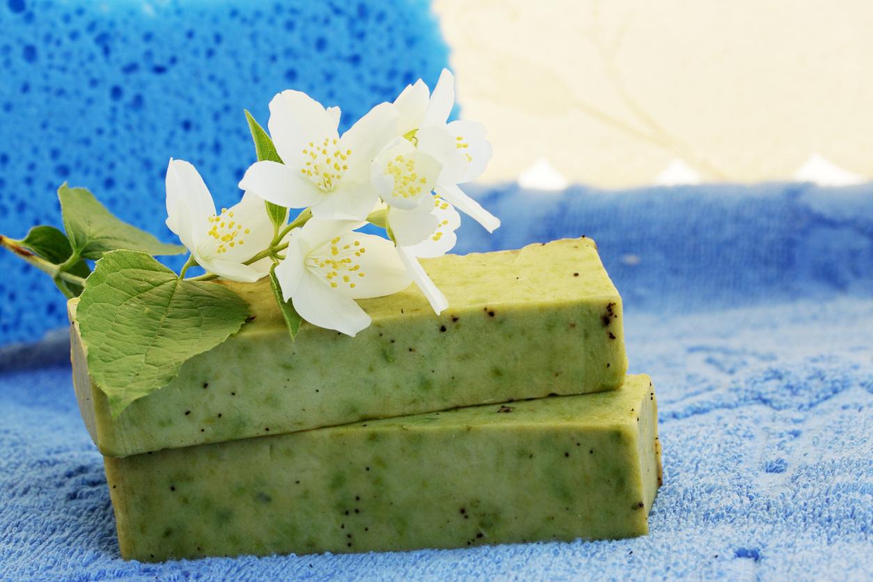 Soap and  jasmine