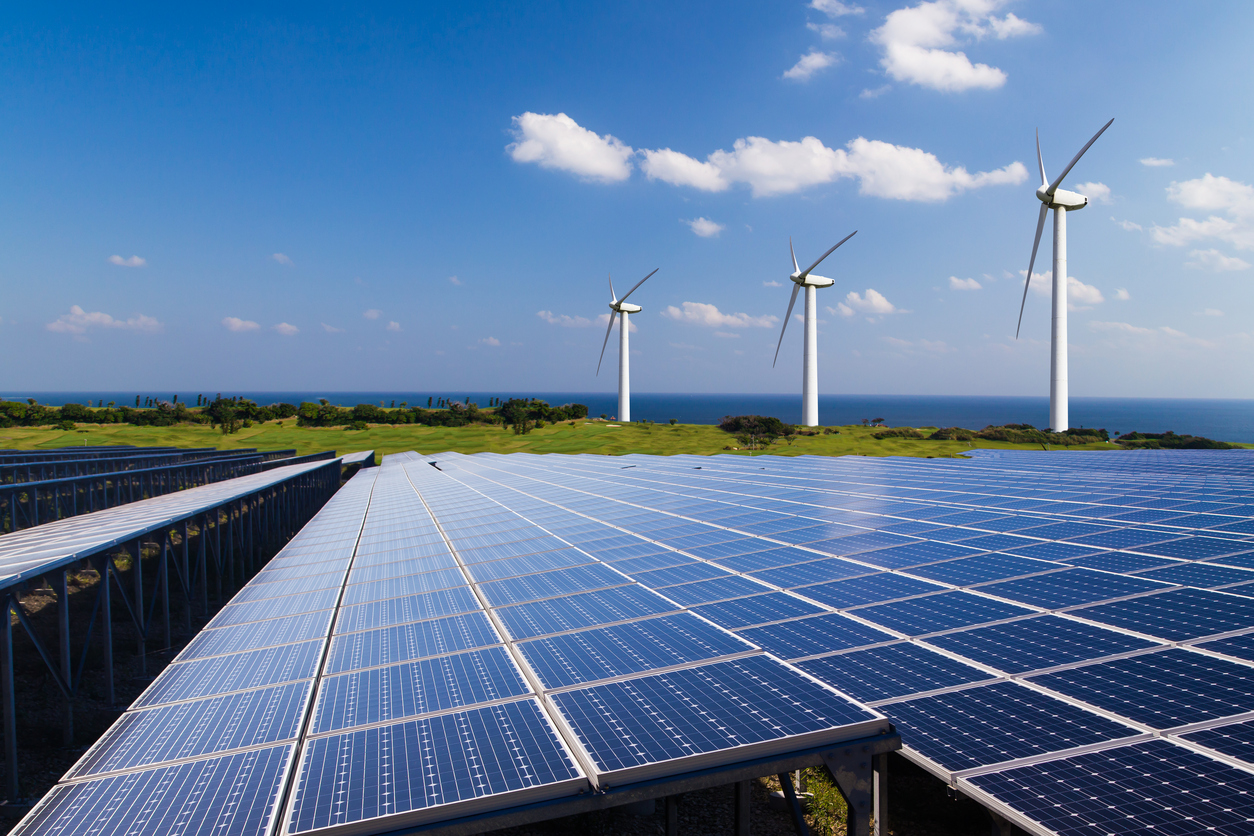 Image of the renewable energy