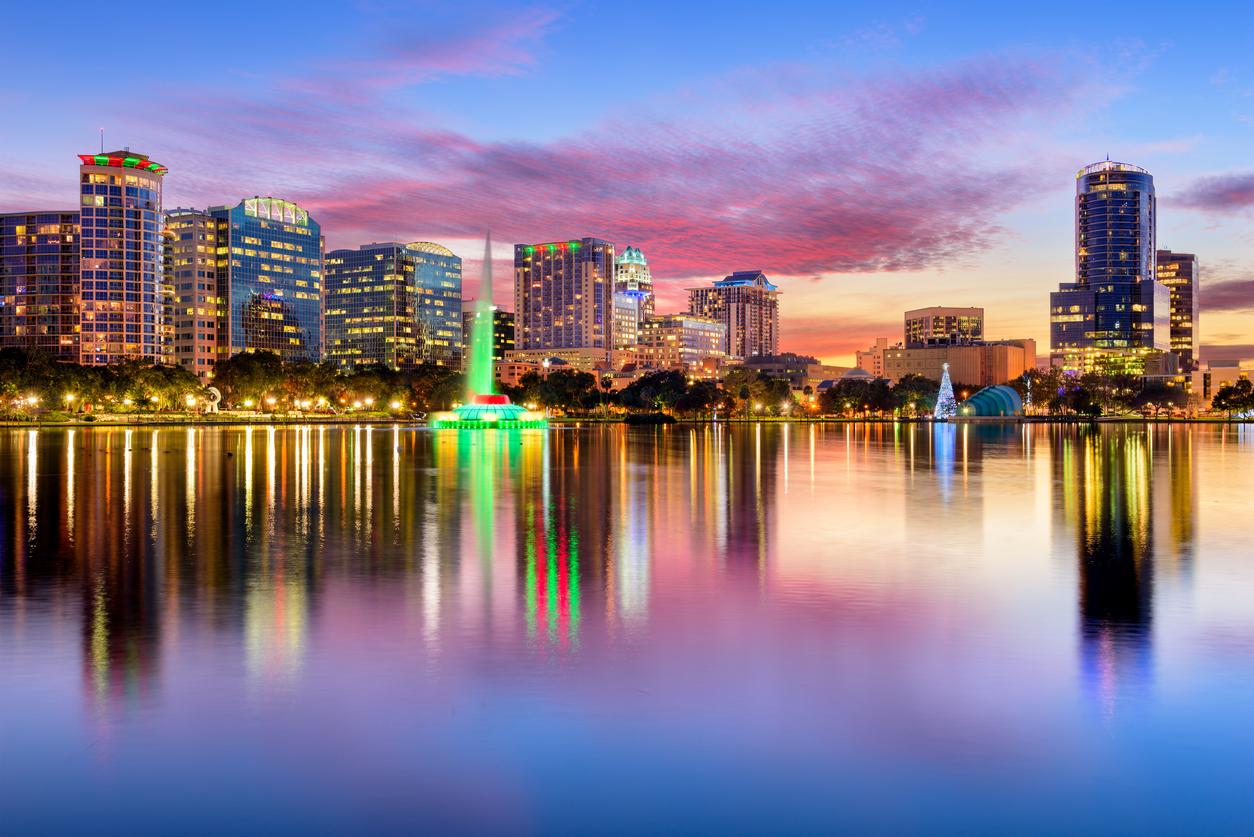 Orlando Florida Skyline